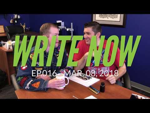Write Now - Ep.016: Throwback Thursday with Brian & Drew!
