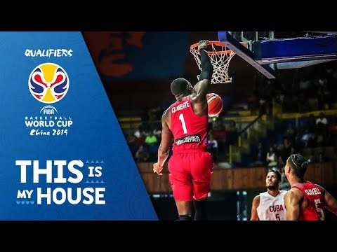 Top 25 Dunks - First Window of the FIBA Basketball World Cup 2019 Qualifiers (VIDEO)