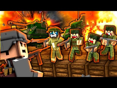 Minecraft WW2 | The Final Push to Paris! - S1E20 (Heroes and Generals Roleplay)