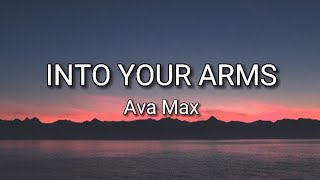 Witt Lowry - Into Your Arms (Lyrics) ft. Ava Max - [No Rap] - [Slowed]