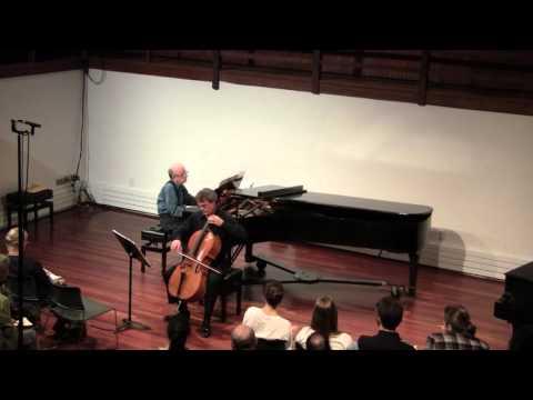 Allen Shawn: Cello Notebook (2015)