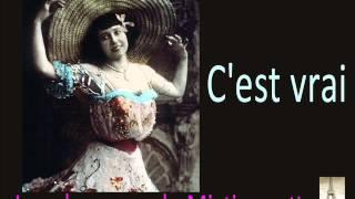 Mistinguett - C