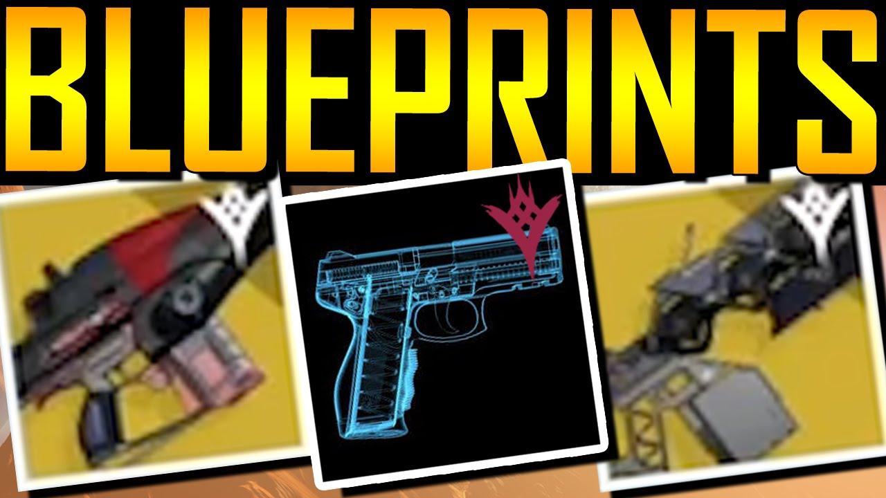 Destiny exotic weapon blueprints youtube malvernweather Images