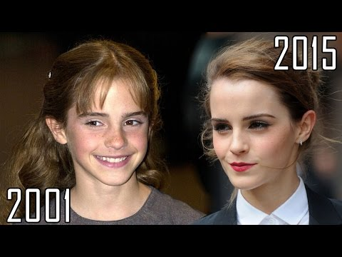 Thumbnail: Emma Watson (2001-2015) all movies list from 2001! How much has changed? Before and Now!