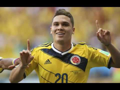21754828c25 Juan Quintero for Colombian Football Team at the FIFA World Cup 2018 in  Russia