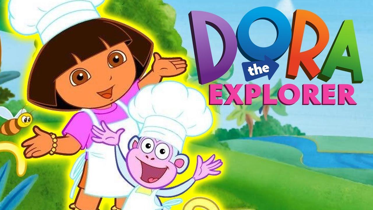 Dora la exploradora en espa ol la cocina de dora dora cocinera latino juego youtube - Dora la exploradora cocina ...