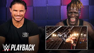John Morrison and R-Truth react to the 2011 Elimination Chamber Match: WWE Playback