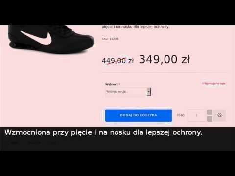 best service 236c8 c5f17 Nike Buty Shox Rivalry 316317 043 czarne