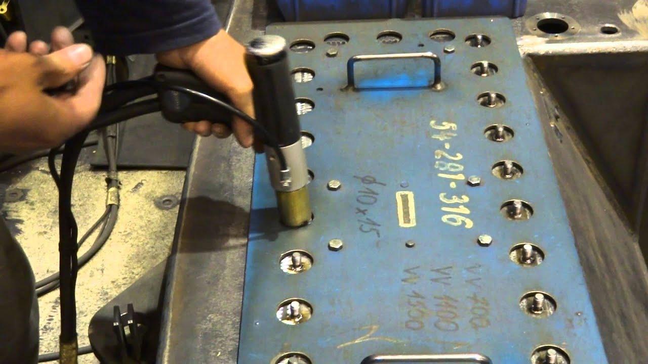 Stud Welding Machine Youtube