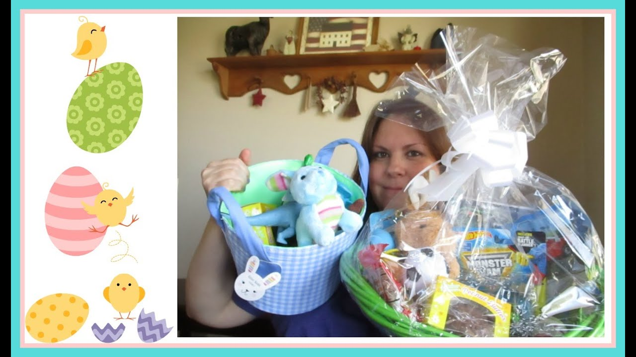 Diy easter baskets for both my sons 18 month old and 6 year old diy easter baskets for both my sons 18 month old and 6 year old 32216 negle Gallery