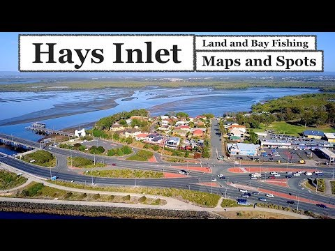 HAYS INLET, Fishing Redcliffe Maps And Spots
