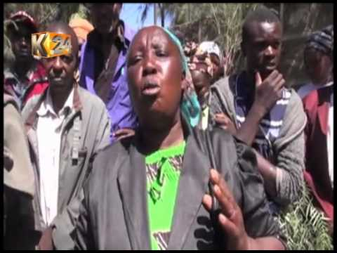 Residents of sweet waters, Laikipia protest rampant livestock theft