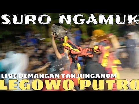 SURO NGAMUK!!!SRUNGGAL PENONTON LEGOWO PUTRO LIVE BENDO