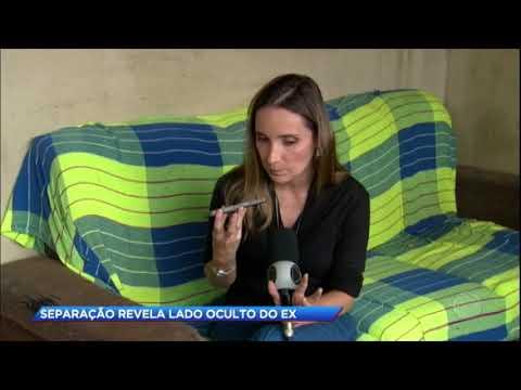 Mulher golpeada pelo ex-namorado faz apelo à polícia em Brasília (DF)