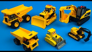 CAT CONSTRUCTION TRUCKS MINI MOVER TRACKED EXCAVATOR TRUCKS PRESCHOOL TOYS MINI MIGHTY MACHINES