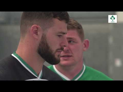 Murray And Henshaw On Ireland's Rugby World Cup Jersey
