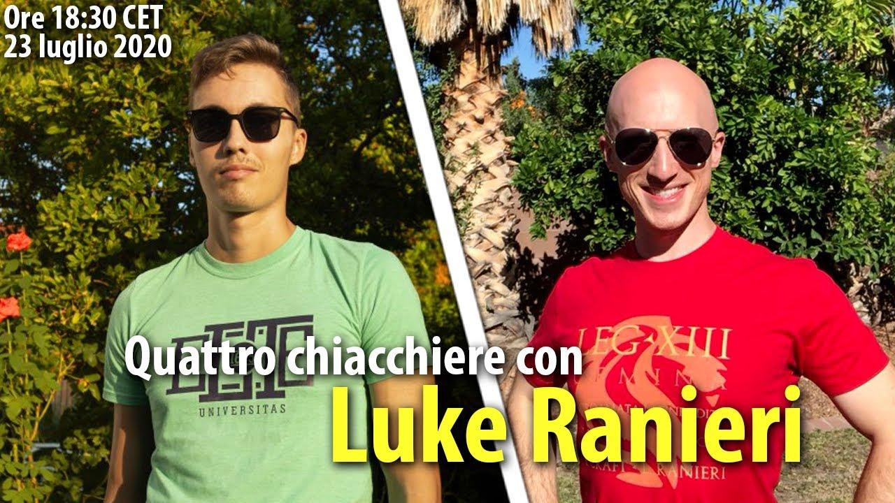 L'americano che parla latino - Luke Ranieri - Live #9