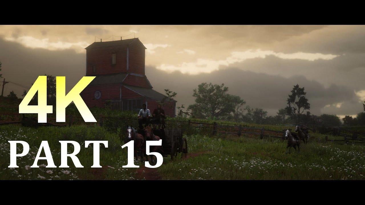 RED DEAD REDEMPTION 2 Walkthrough Gameplay 4K Part 15- (RDR2)