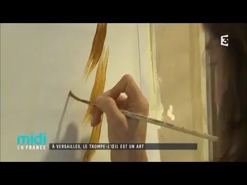 À Versailles, le trompe-l'oeil est un art