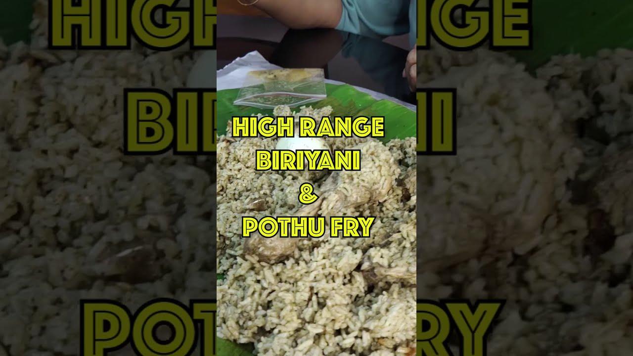 High Range Takeaway Restaurant - Trivandrum Food Review #shorts