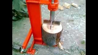 Łuparka hydrauliczna do traktora