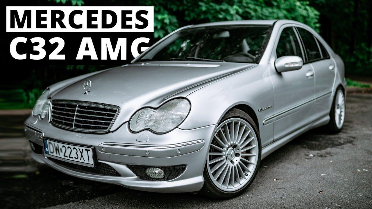 Mercedes C32 AMG - jeszcze nie widać, a już słychać