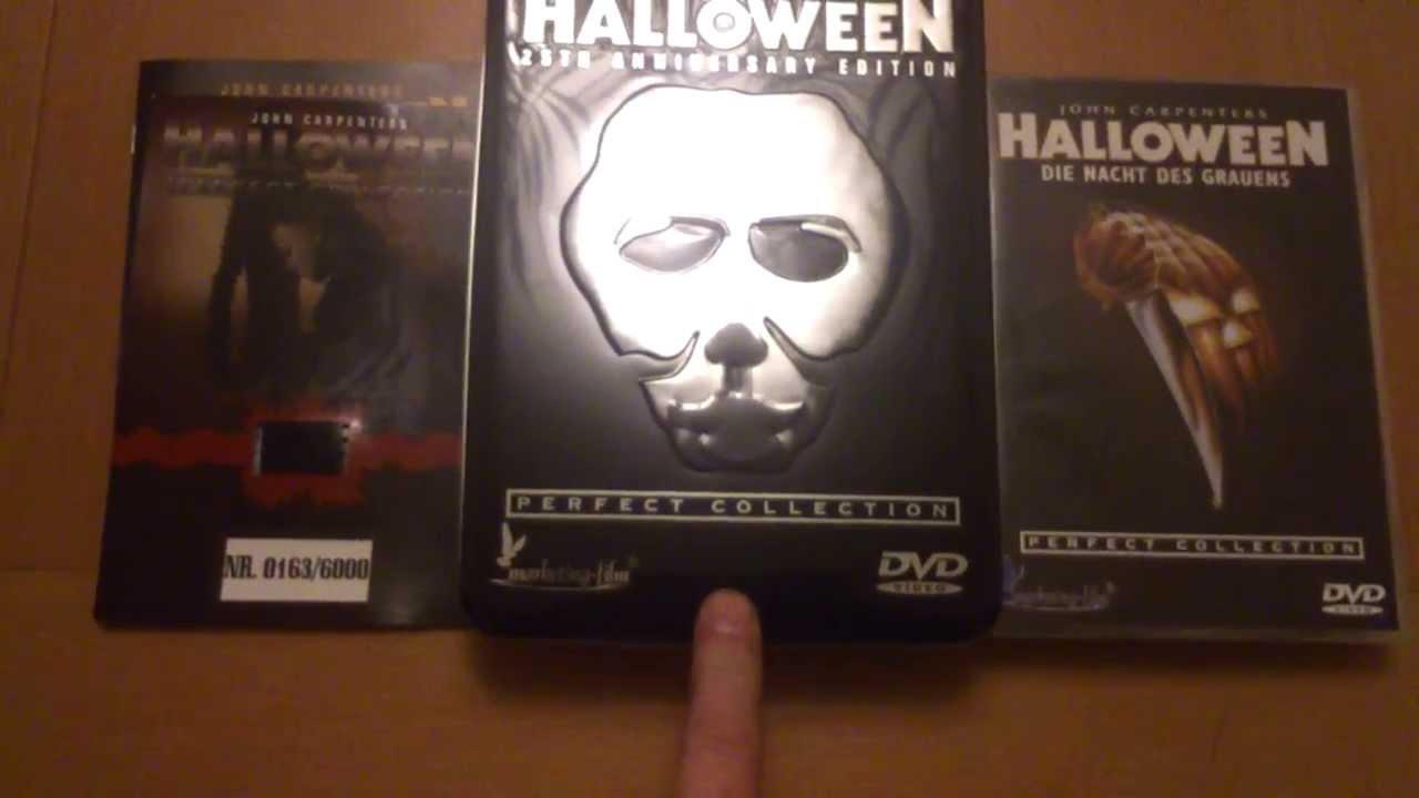 Halloween dvd divimax 25th anniversary edition   ebay.
