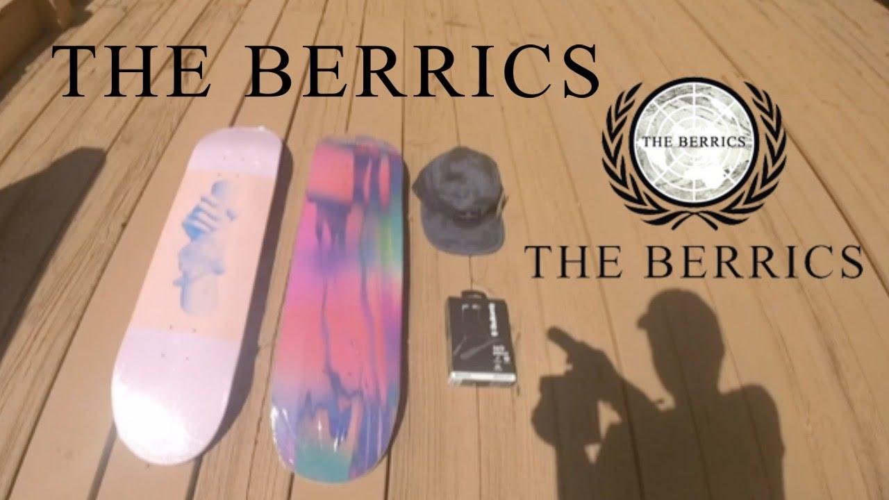 SOVRN Skateboards Unboxing from The Berrics! - YouTube