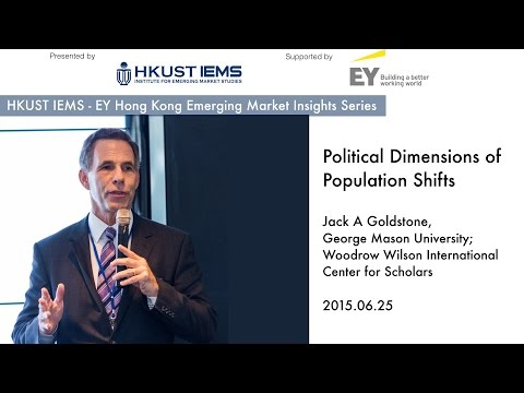 Jack Goldstone: Political Dimension of Demographic Shifts