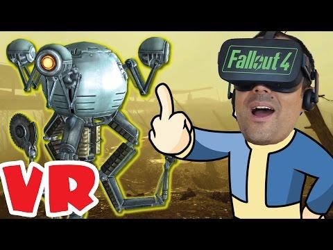 DENTRO DEL YERMO - #3 Fallout 4 VR en Realidad Virtual - Ouculus Rift CV1