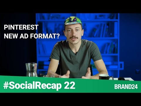 Pinterest introduces Promoted Carousel Ads & Other Social Media Updates  | #SocialRecap ep. 22