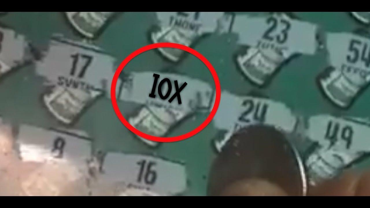 [$30] Big Win on $10,000,000 BANKROLL CA Scratch Off Lottery!!!