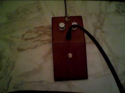 JMI Gary Hurst wooden box MKI tone bender fuzz