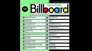 Billboard Top Pop Hits - 1981