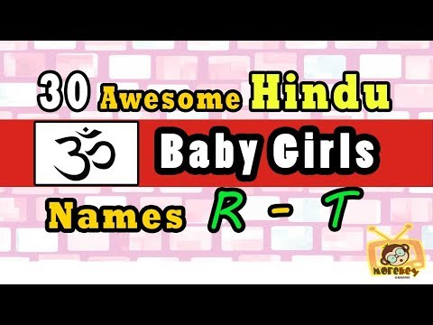 30 Hindu Baby Girl Names Start From 'R' to 'T' 2018, Hindu Baby Names 2018