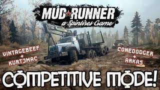 Spintires: VERSUS MODE! - 04 - Nail Biter of a Finish