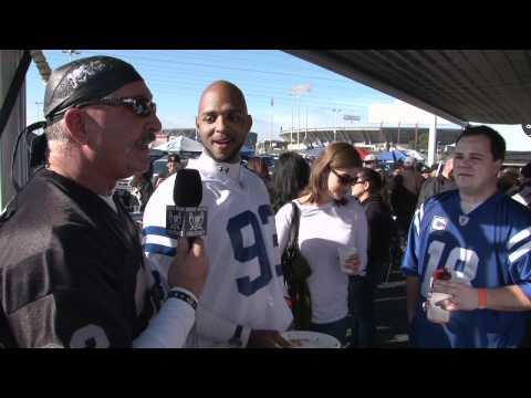 Raiders vs Colts in Oakland 2010