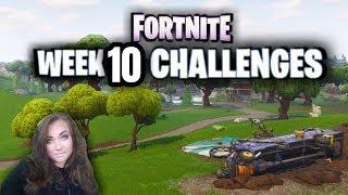 Fortnite Season 6 Week 10 Challenges / Fortnite Gifting / Team Rumble