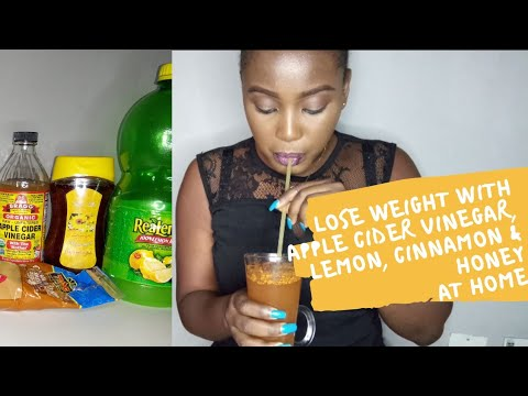 lose-weight-with-apple-cider-vinegar,-lemon,-cinnamon-&-honey