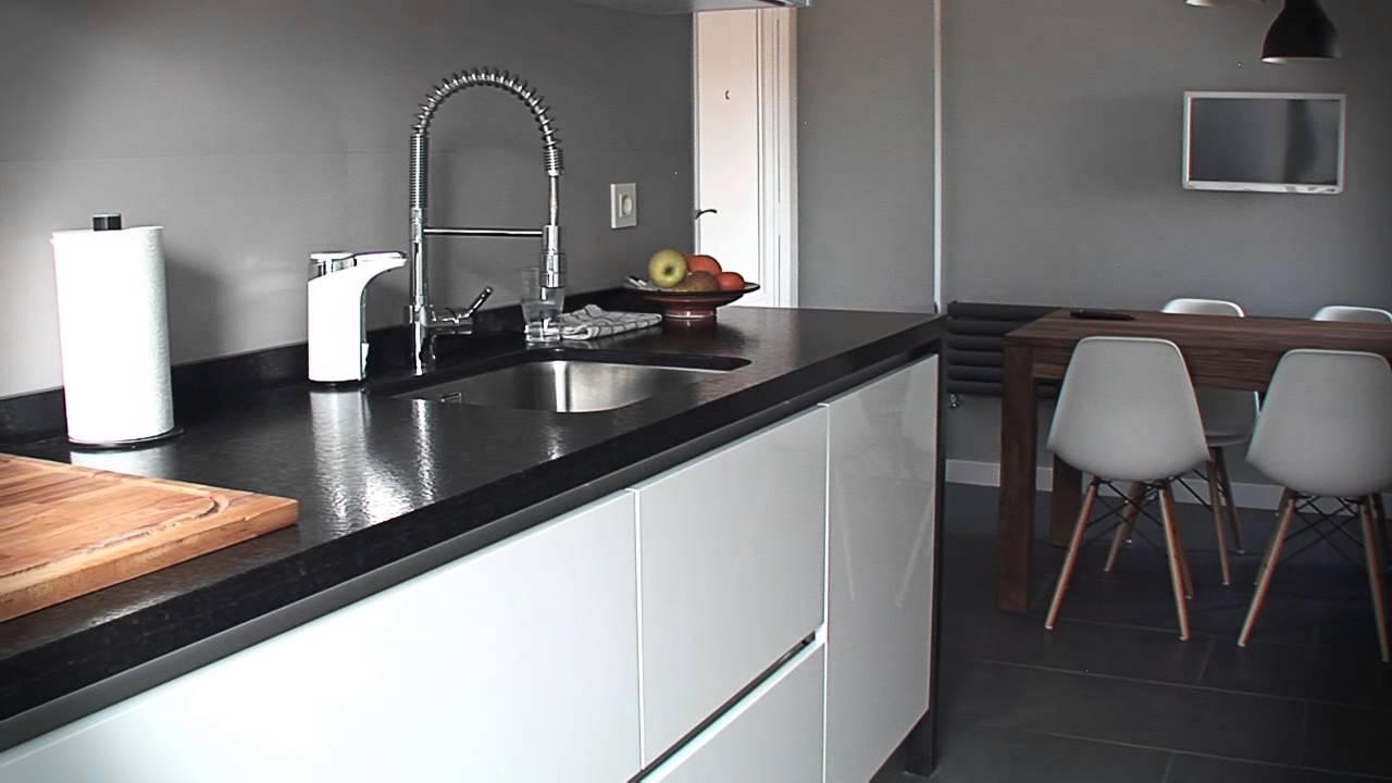 Incovall cocina lacada sin tiradores youtube - Cocina sin tiradores ...