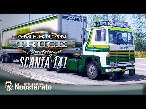 American Truck Simulator - По Америке на Scania 141 (mTG)???? На руле Logitech G27
