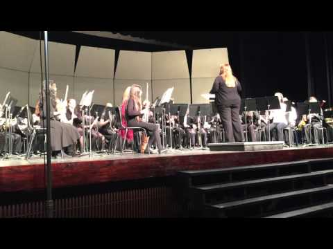 Texas Region 25 All-Region Band Concert - Secret Agent Sugar Plum