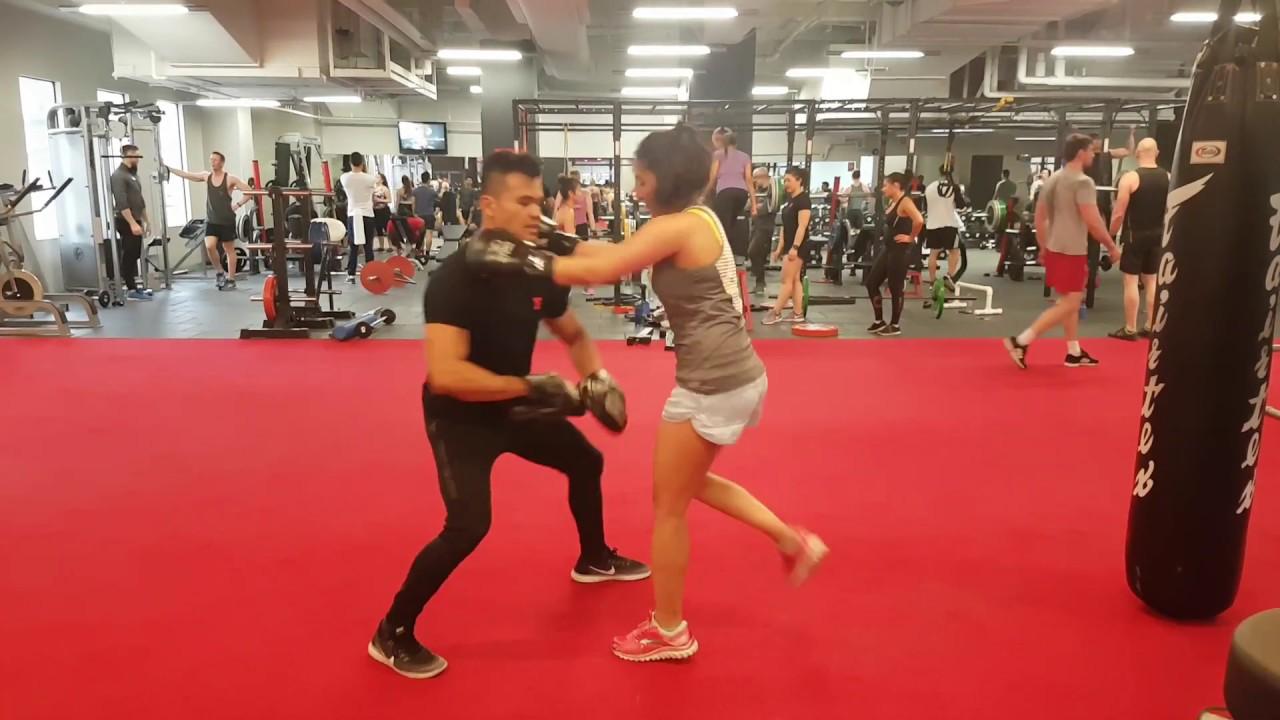 Boxing Combos w/Rami