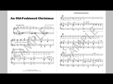 An Old-Fashioned Christmas - MusicK8.com Singles Reproducible Kit