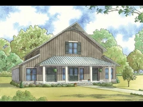 house plan smn 1014 barnwood manor visual open house youtube