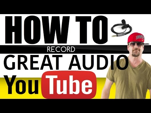 How to record audio for video  - HOW TO YOUTUBE with Jack Vale