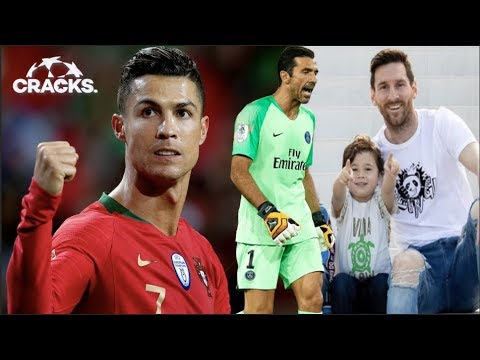 "TRES de CRlSTlANO ¡Y a la FINAL!   MESSI: ""Mi hijo gritó GOL del MADRID"" ¿Por qué?   ADIÓS a BUFFON"