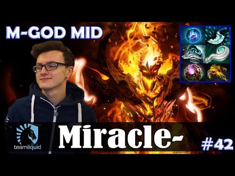 Miracle  Shadow Fiend MID  MGOD  Dota 2 Pro MMR Gameplay #42