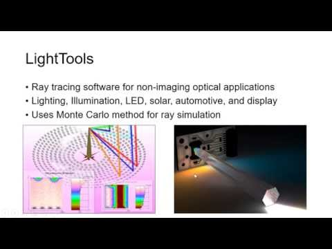 Optics for Energy - LightTools Tutorial 20160929