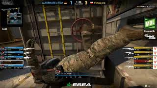 ESEA MDL SEASON 31 EUROPE VIRTUS PRO VS ALTERNATE ATTAX TRAIN CSGO 2019